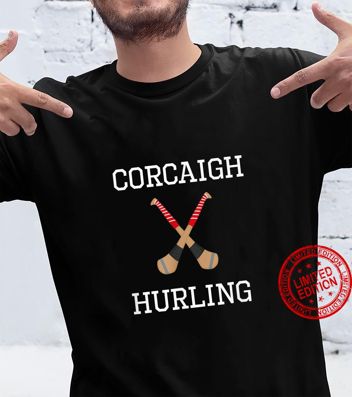Cork Hurling Irish County Ireland Hurling As Gaeilge Shirt