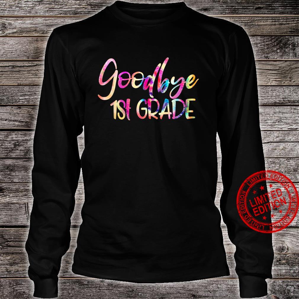 Goodbye First Grade Straight Outta First Grade Class Of 2021 Shirt long sleeved