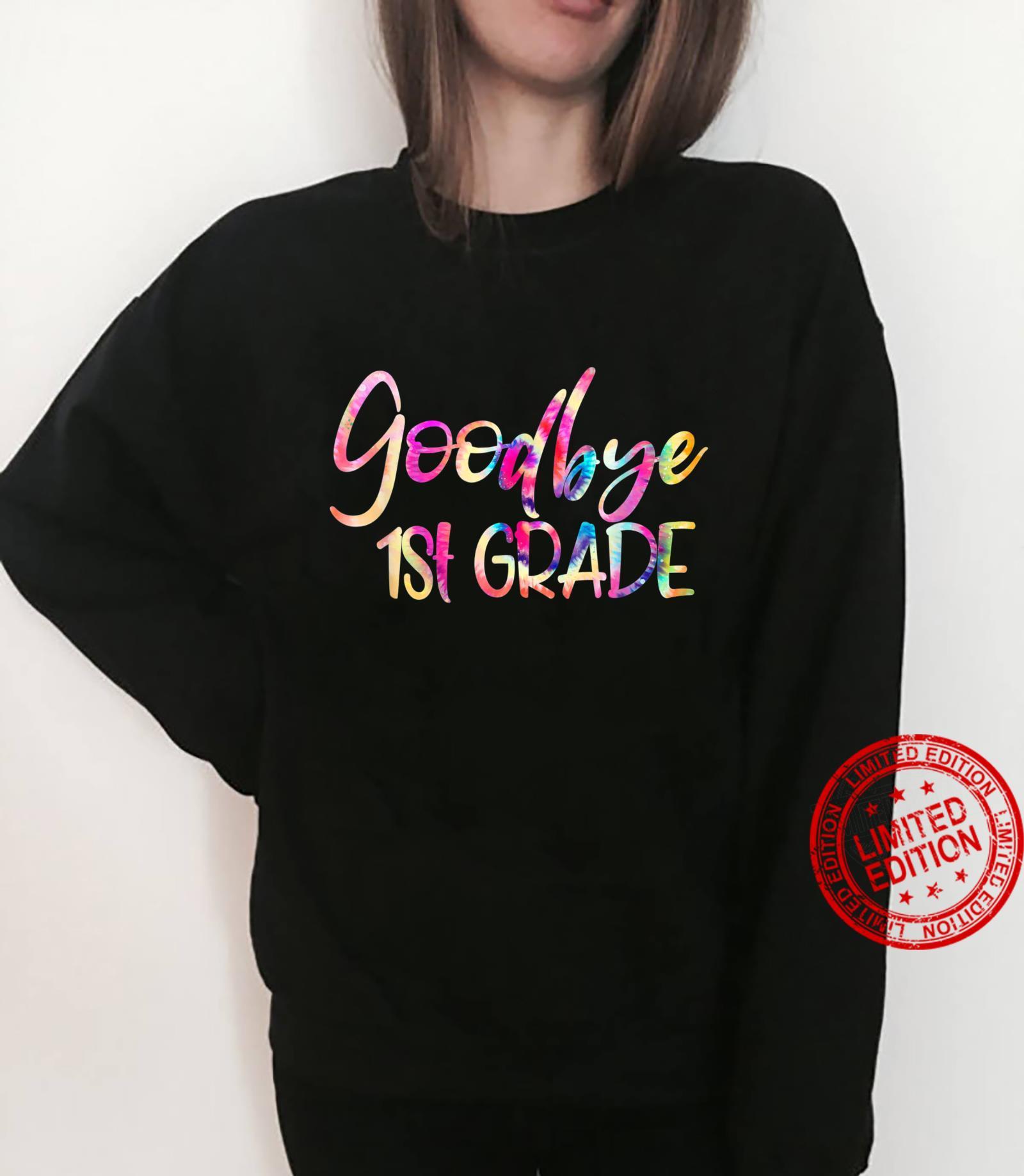 Goodbye First Grade Straight Outta First Grade Class Of 2021 Shirt sweater
