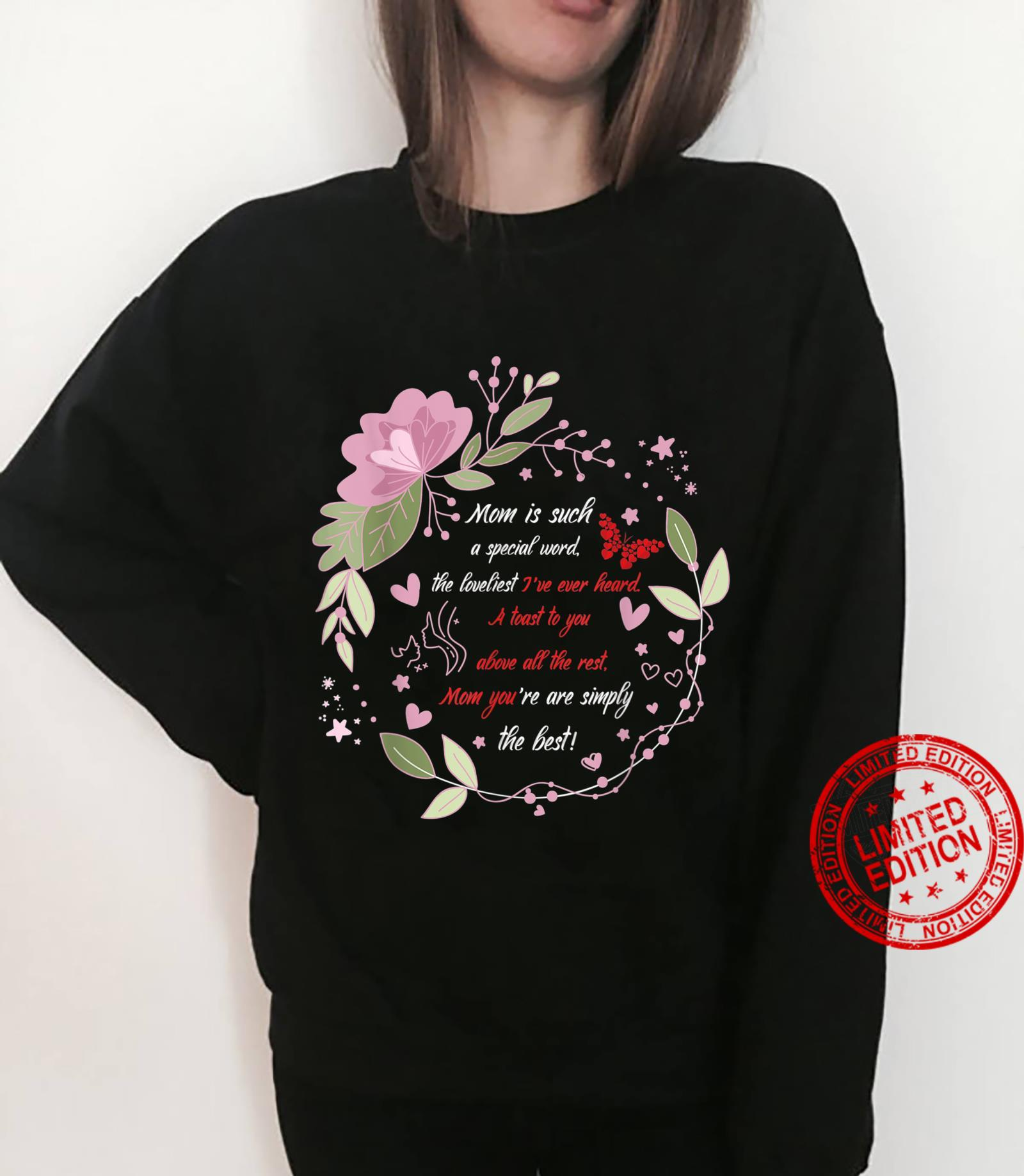Lovely Mother`s Day Design tribute outfit Shirt sweater