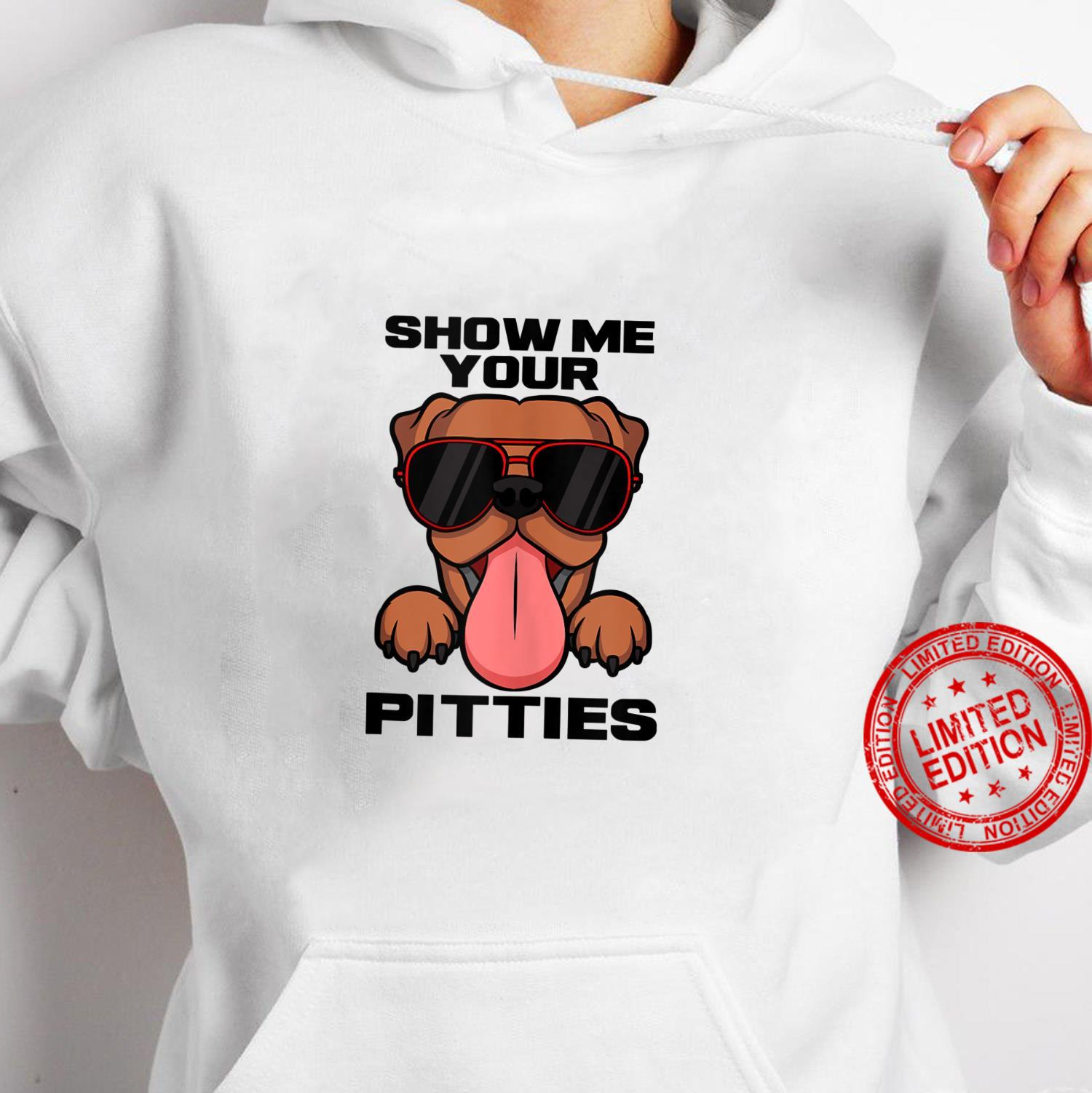 Pitbull Owner Fan Outfit I Show Me Your Pitties Shirt hoodie