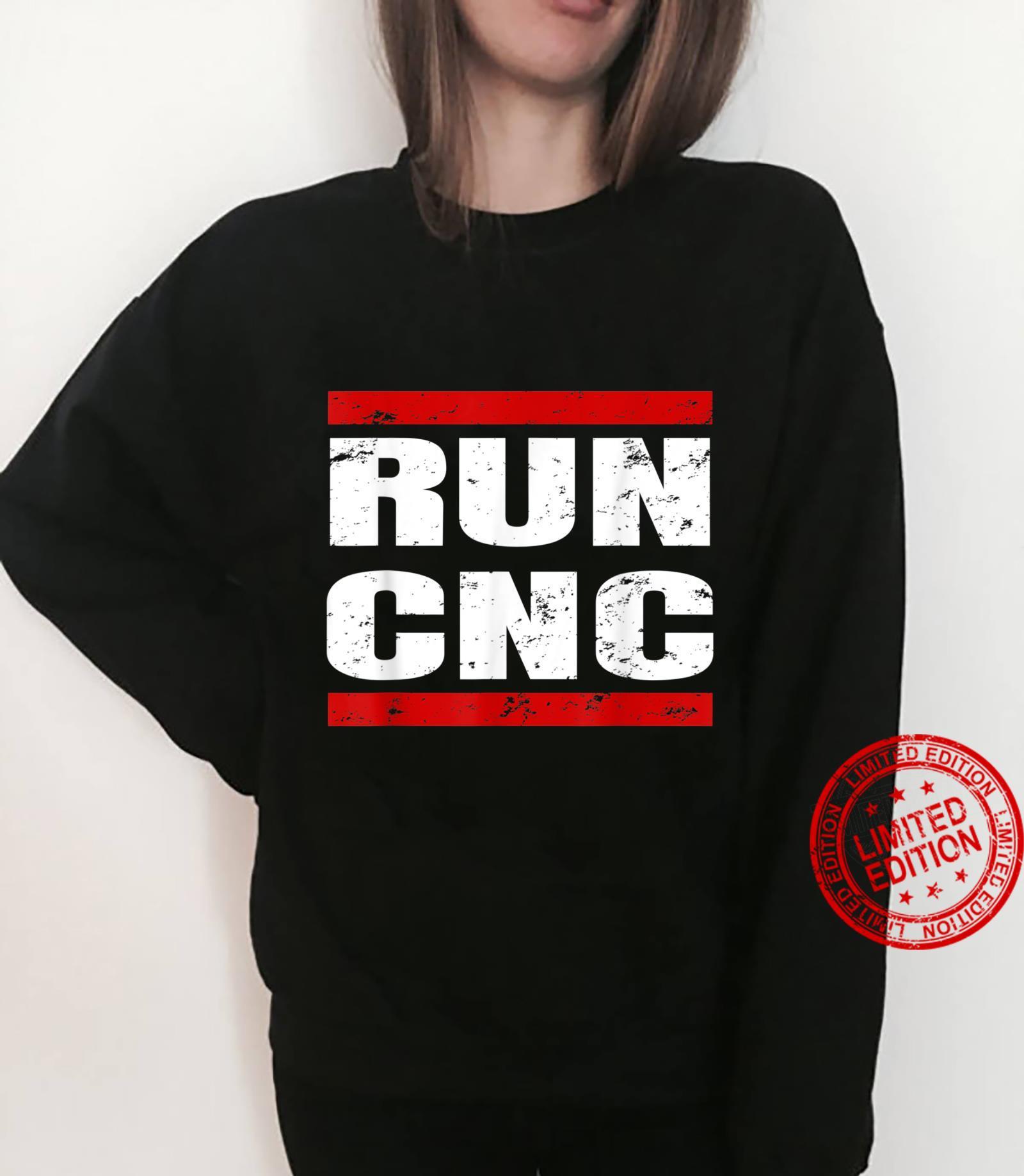 RUN CNC Zerspanungsmechaniker CNC Fräser Programmierer Shirt sweater