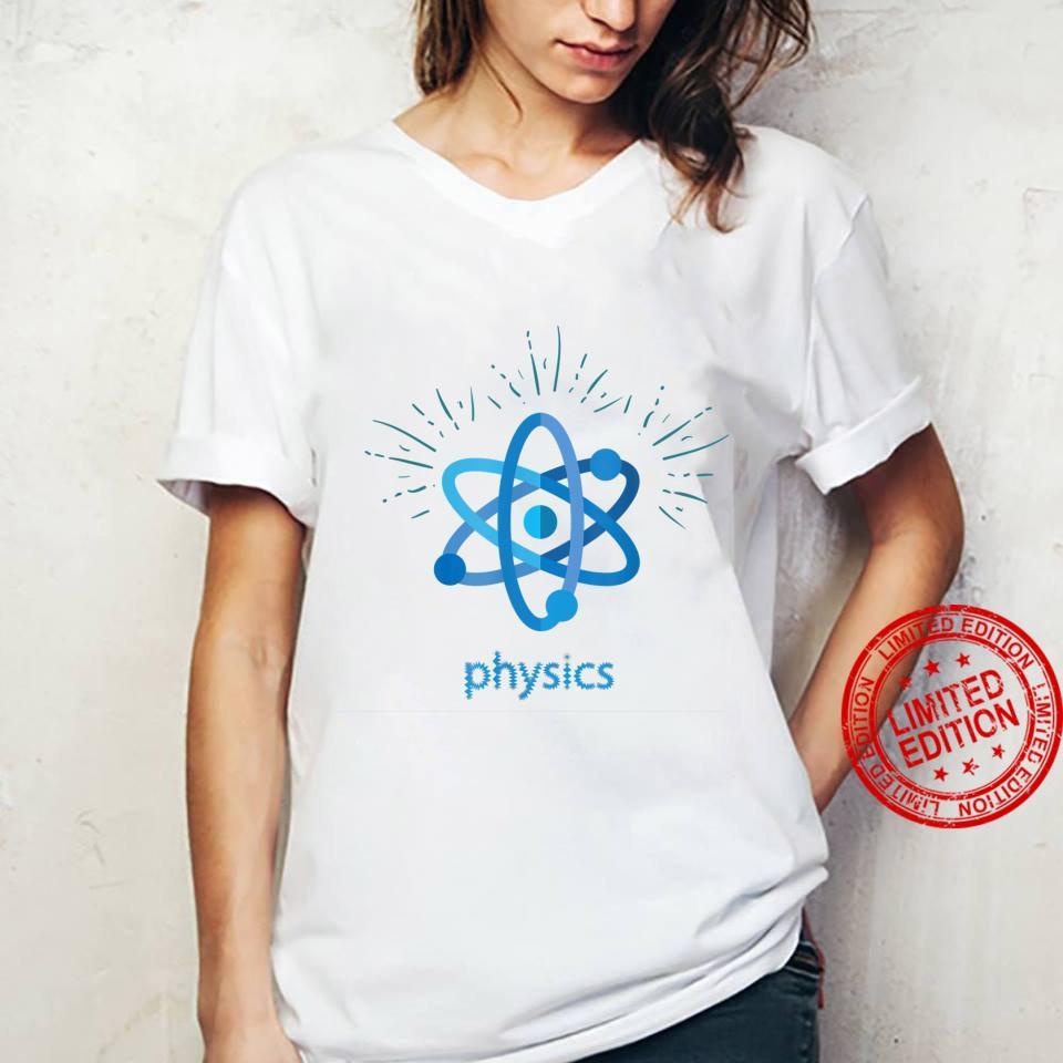 Science Atoms Shirt ladies tee