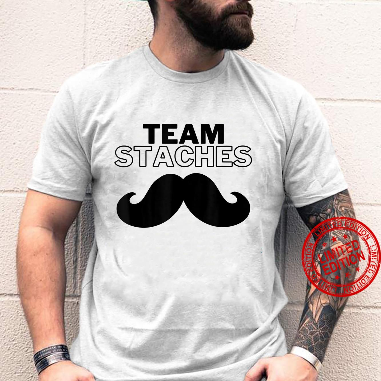 Team Staches Gender Reveal Party Shirt