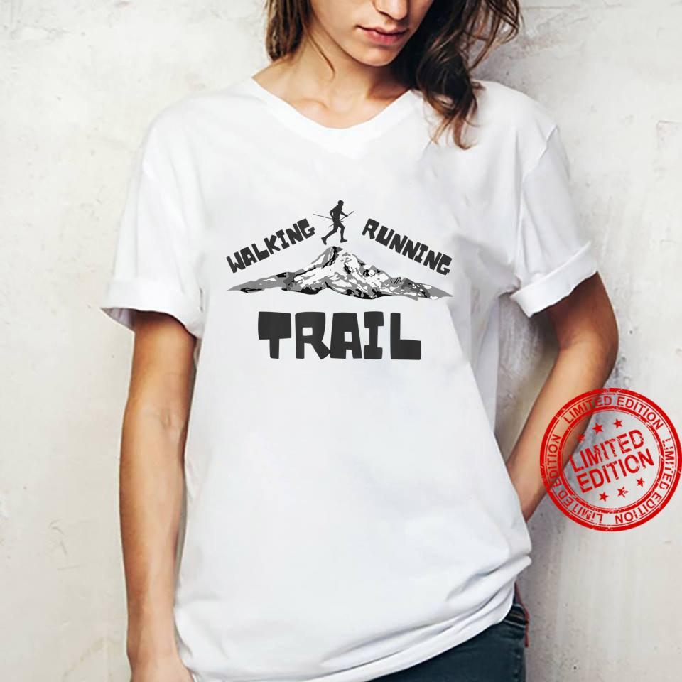 Trail Running or Walking Shirt ladies tee