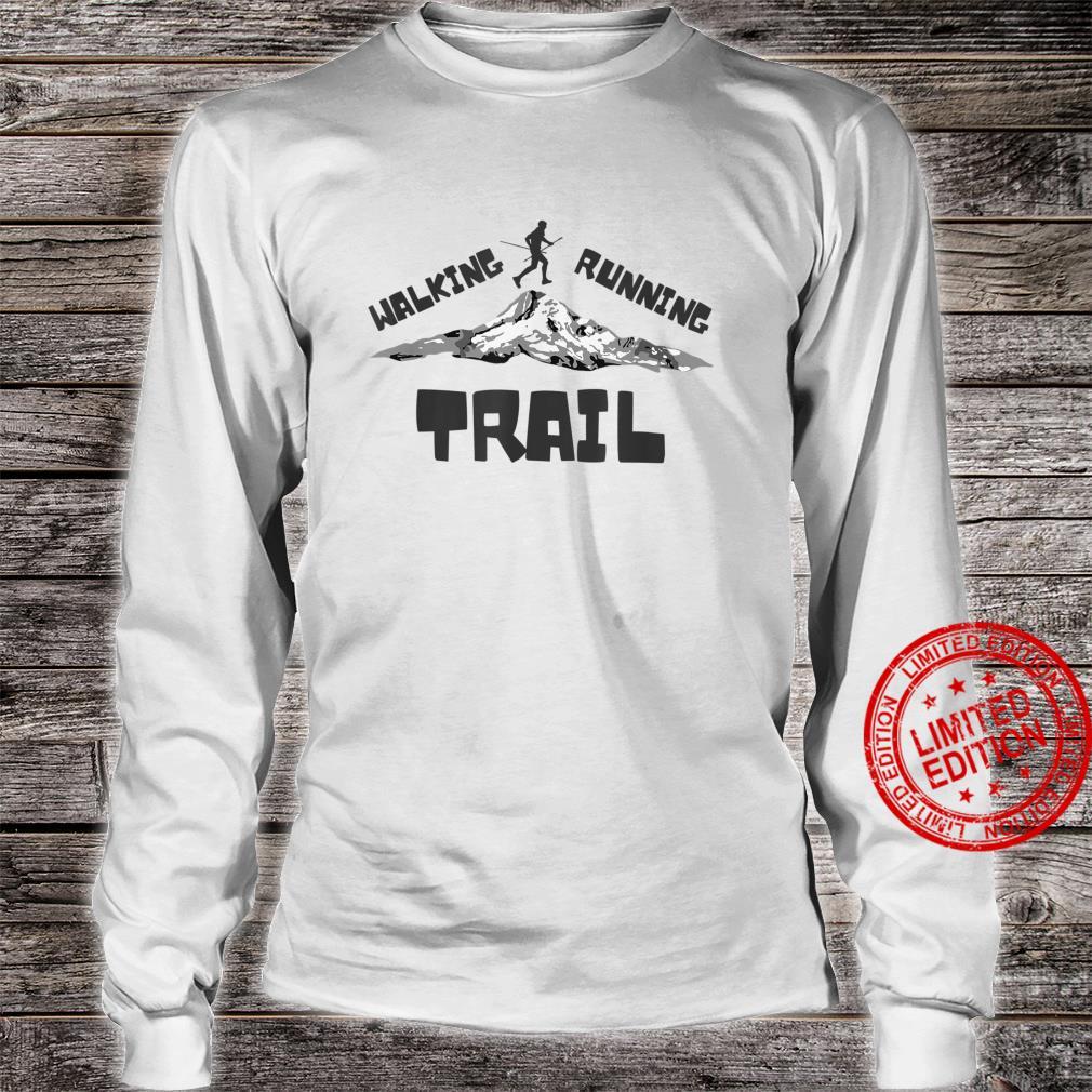Trail Running or Walking Shirt long sleeved