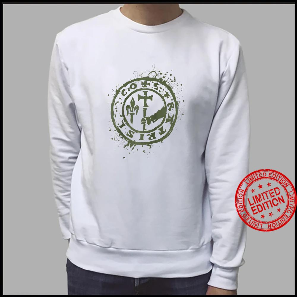 Vintage Knight Templar Crusader Knight Shirt sweater