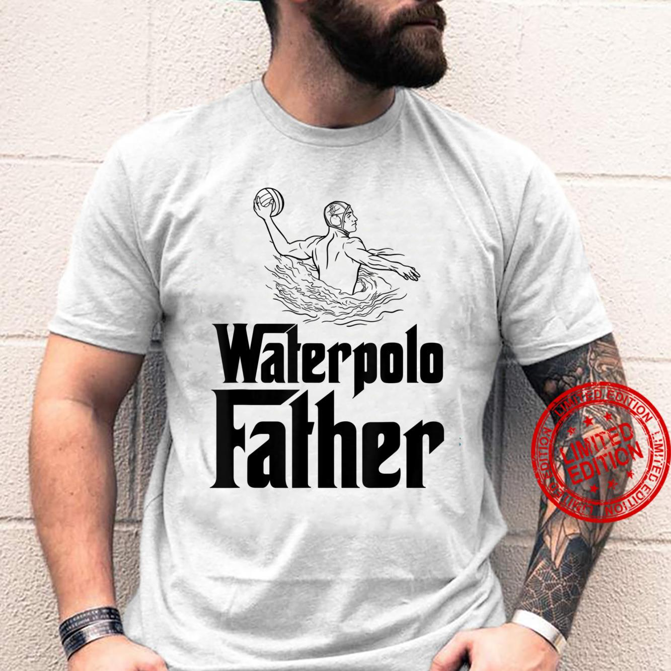 Waterpolo Father Water Polo Player Dad Shirt