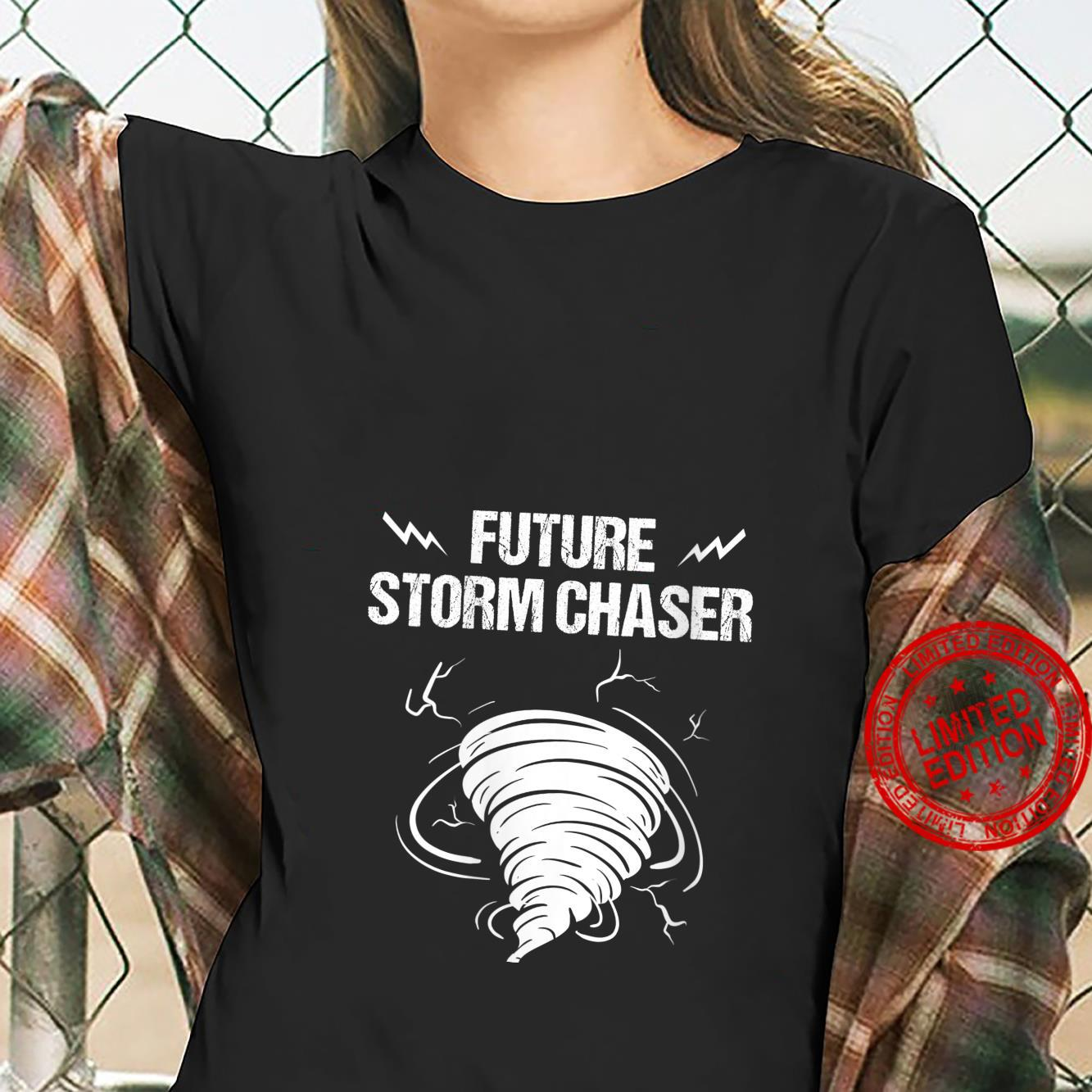 Womens Future Storm For Chaser Meteorologist Shirt ladies tee