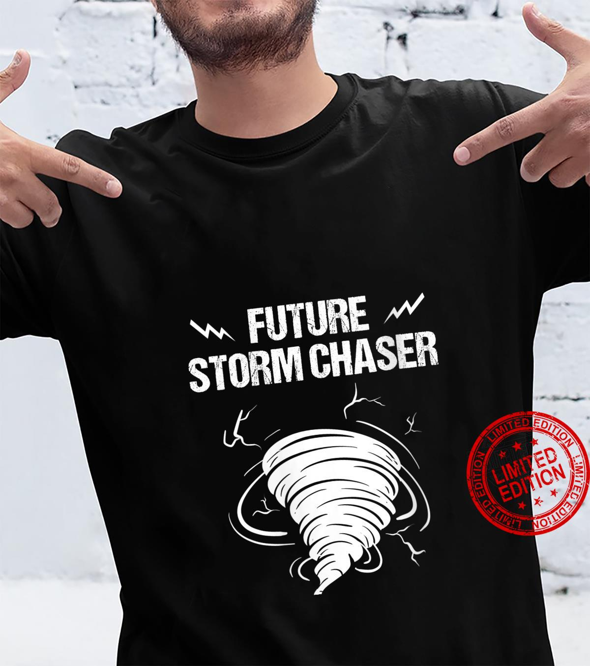 Womens Future Storm For Chaser Meteorologist Shirt
