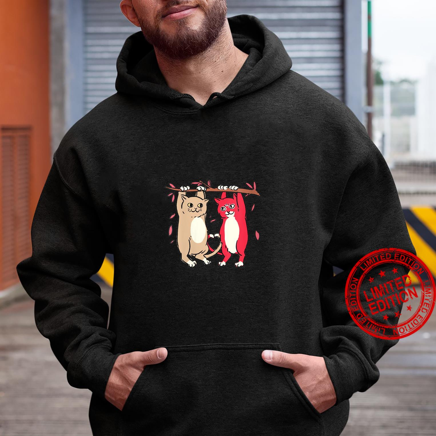 Womens Hang In There Pet Animal Idea Shirt hoodie