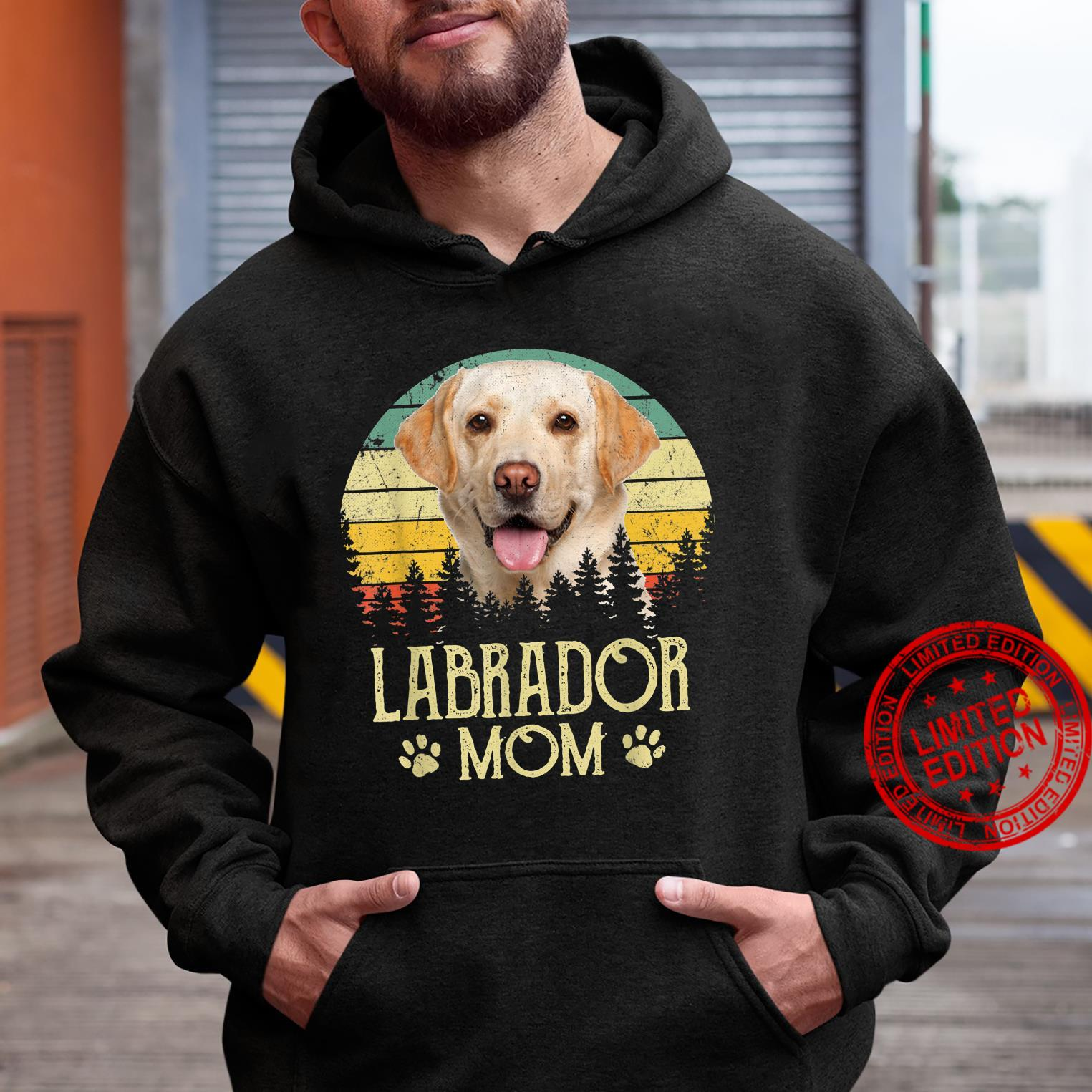 Womens Labrador Mom Dog Dog Mom Dog Dad Shirt hoodie
