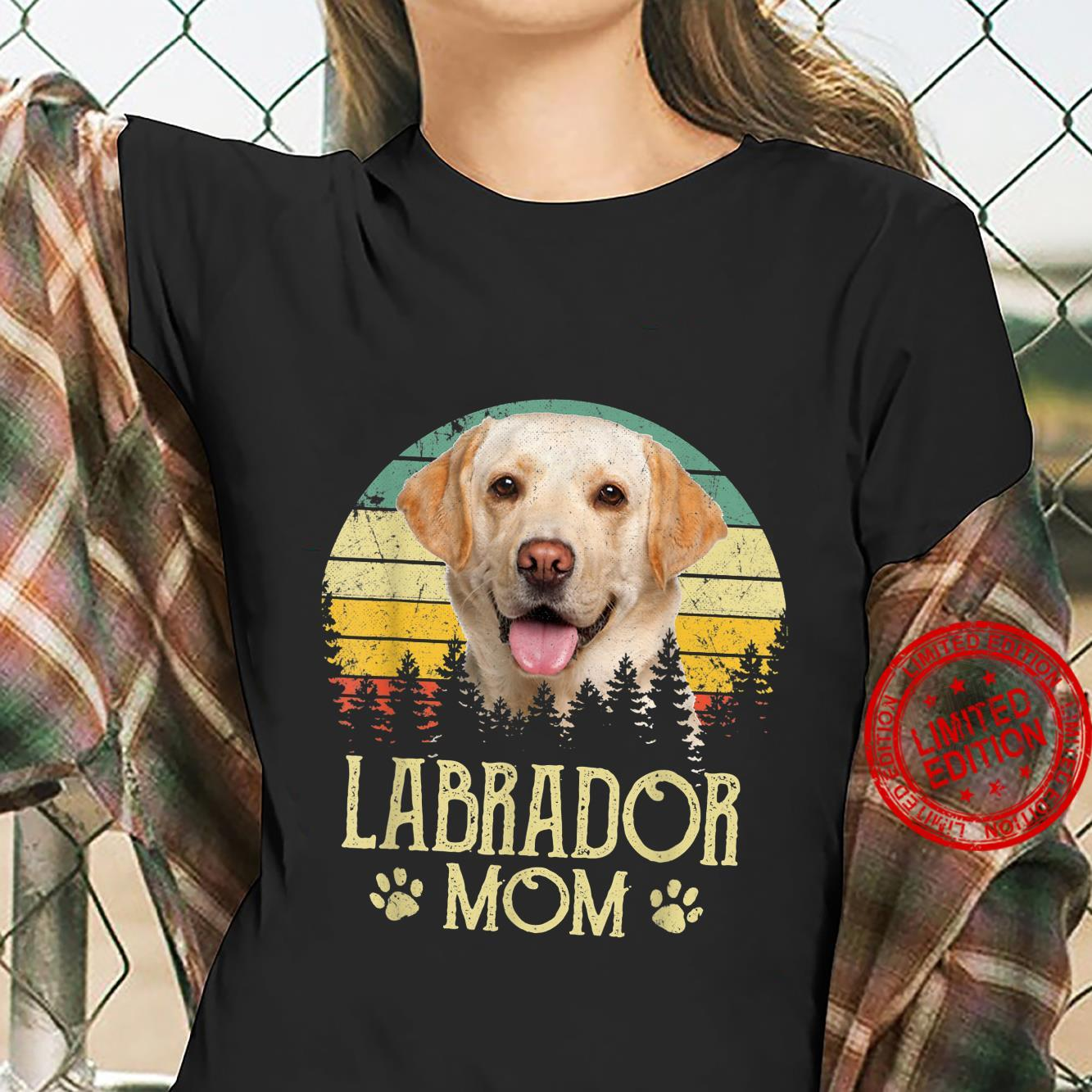 Womens Labrador Mom Dog Dog Mom Dog Dad Shirt ladies tee