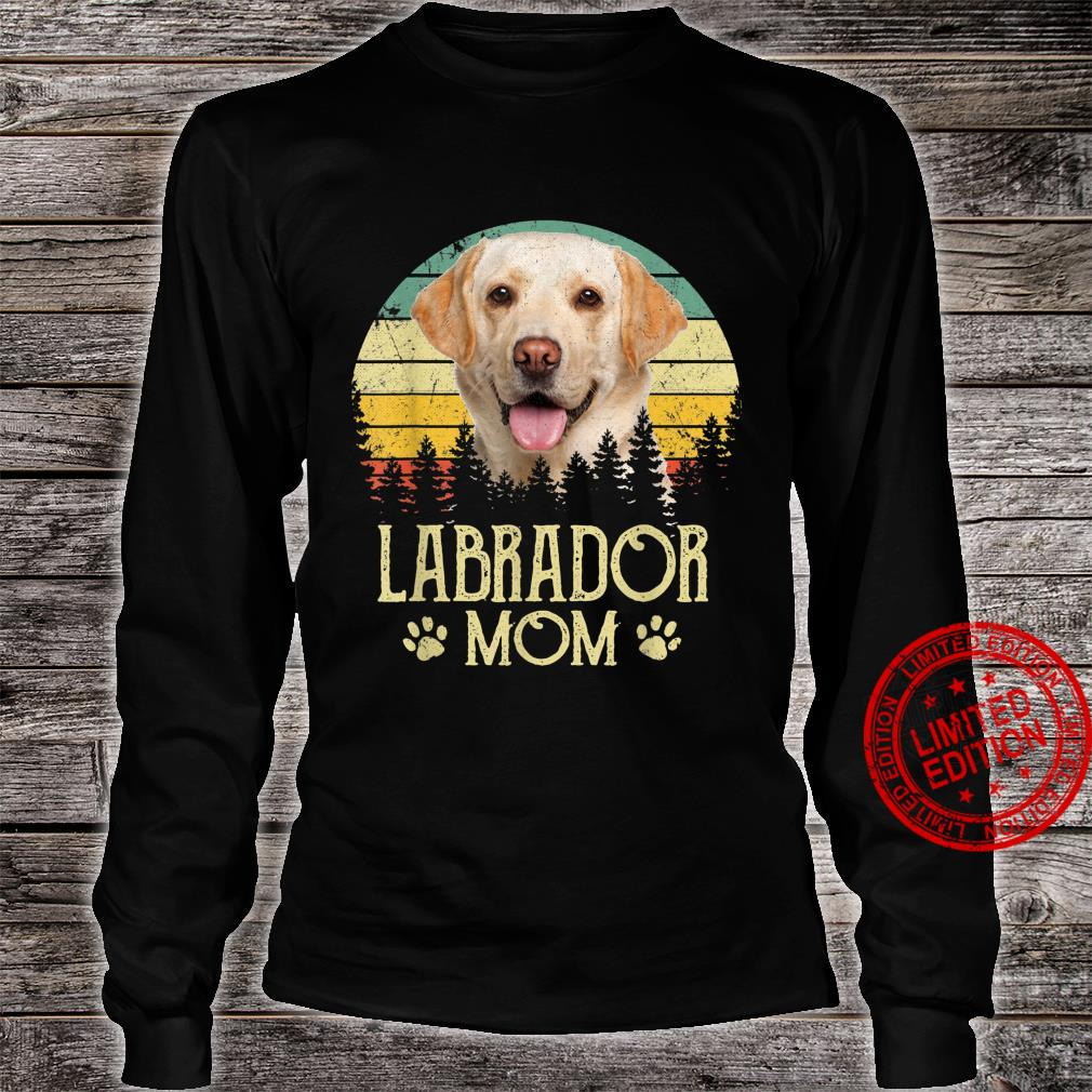 Womens Labrador Mom Dog Dog Mom Dog Dad Shirt long sleeved
