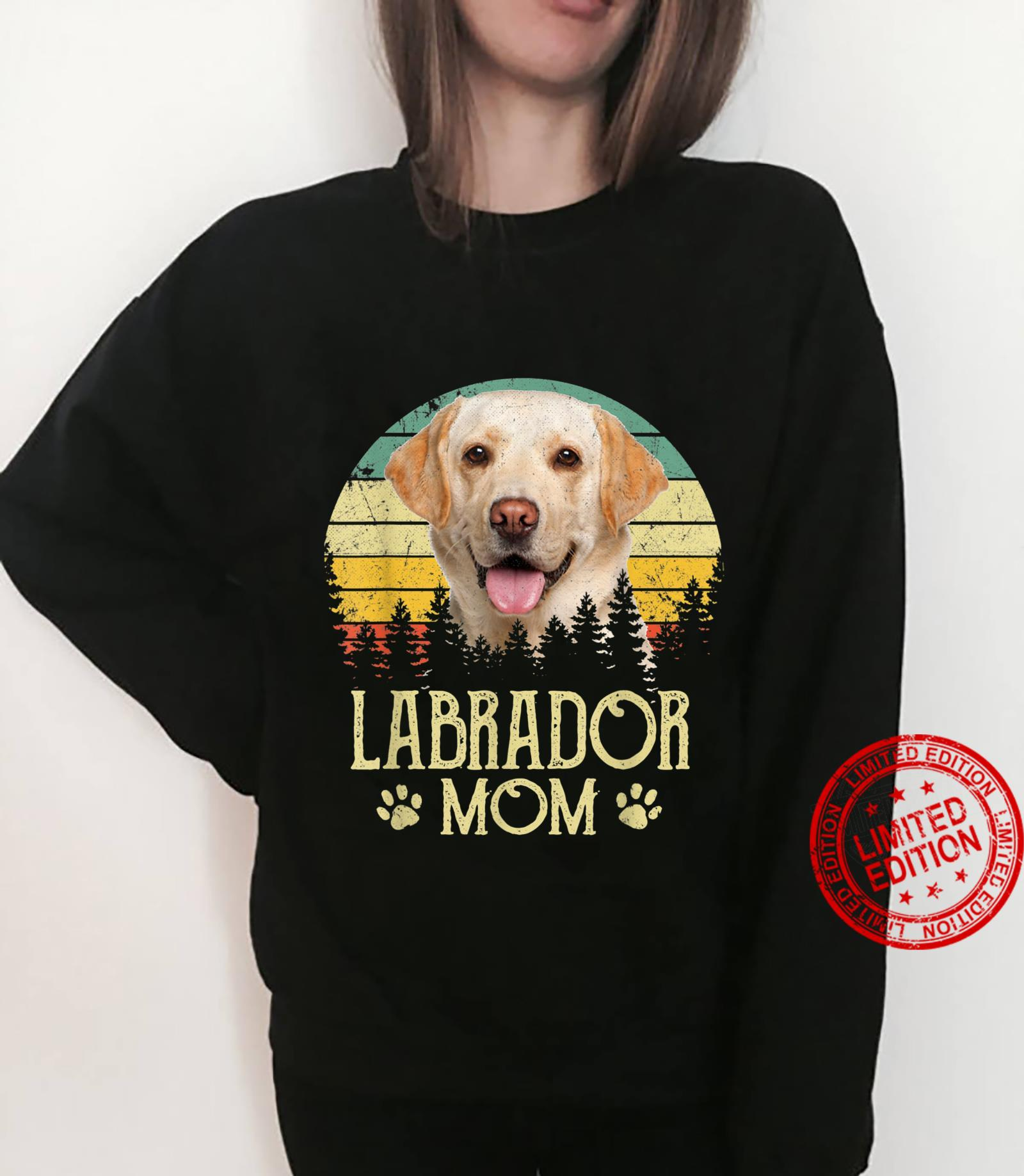 Womens Labrador Mom Dog Dog Mom Dog Dad Shirt sweater