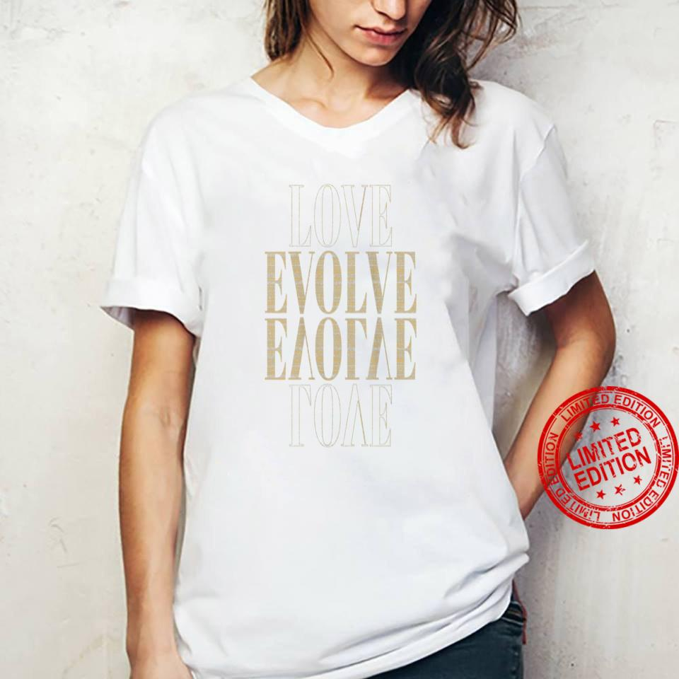 Womens Love Evolved by Ministri, Inspirational Shirt ladies tee