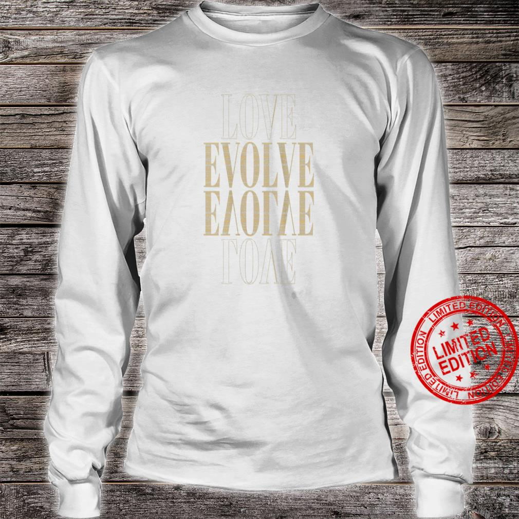 Womens Love Evolved by Ministri, Inspirational Shirt long sleeved
