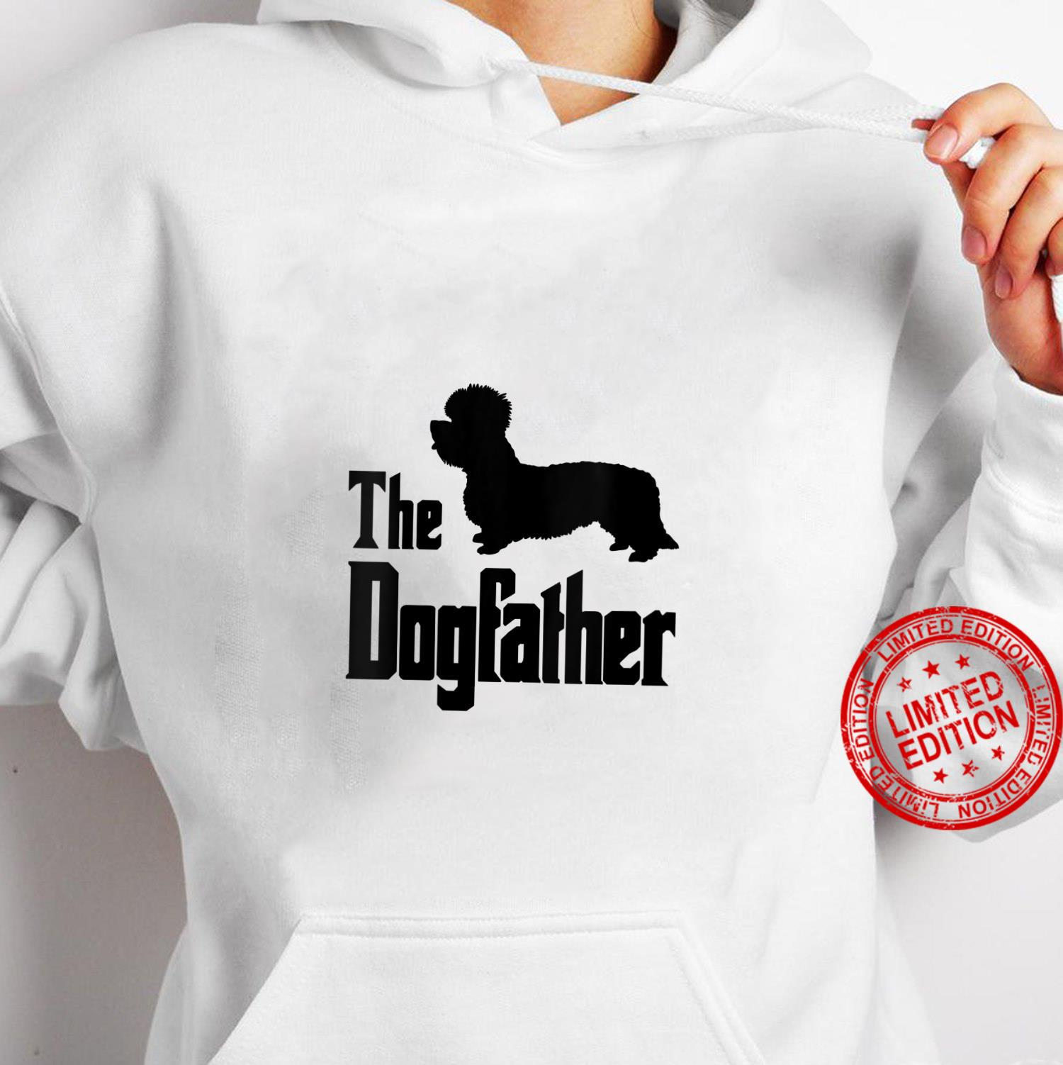 Womens The Dogfather funny dog, Dandie Dinmont Terrier Shirt hoodie