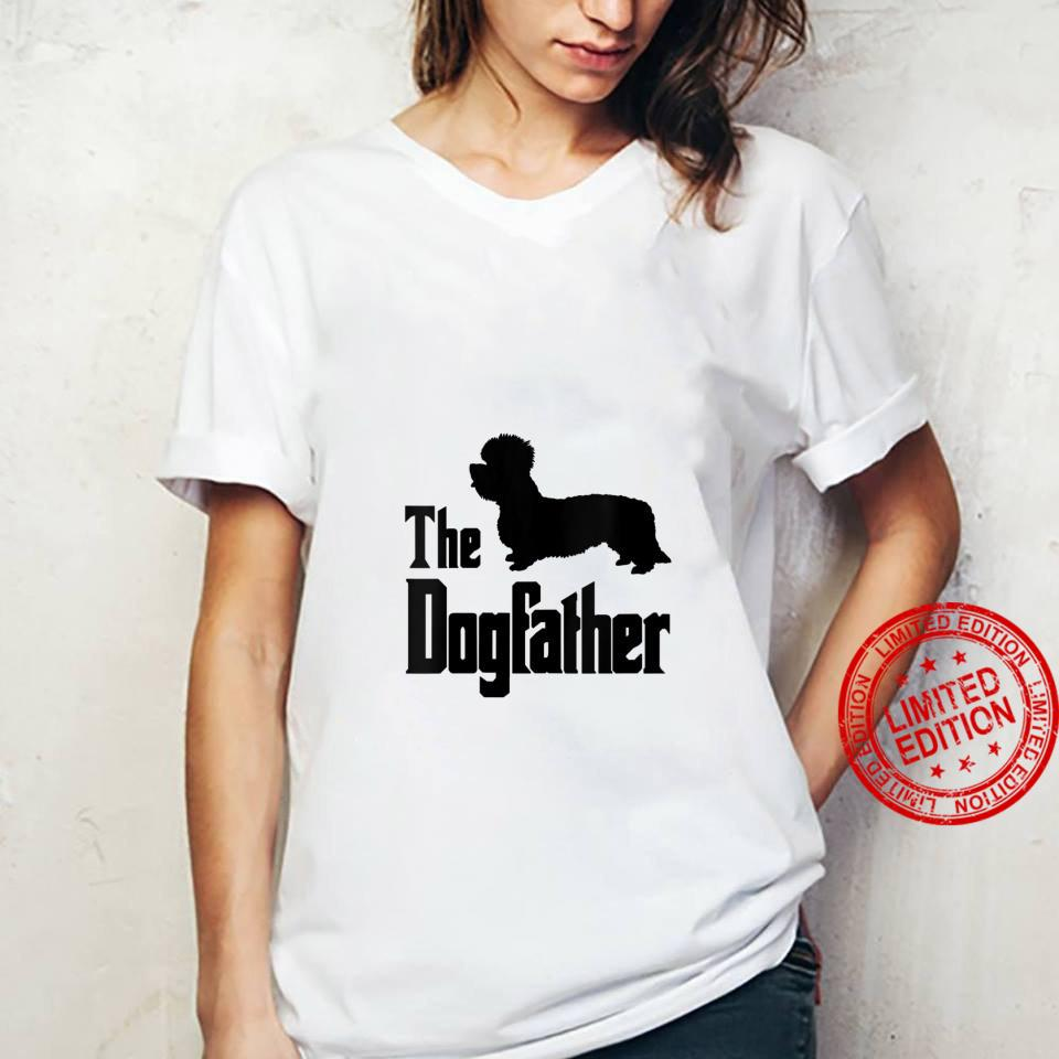 Womens The Dogfather funny dog, Dandie Dinmont Terrier Shirt ladies tee