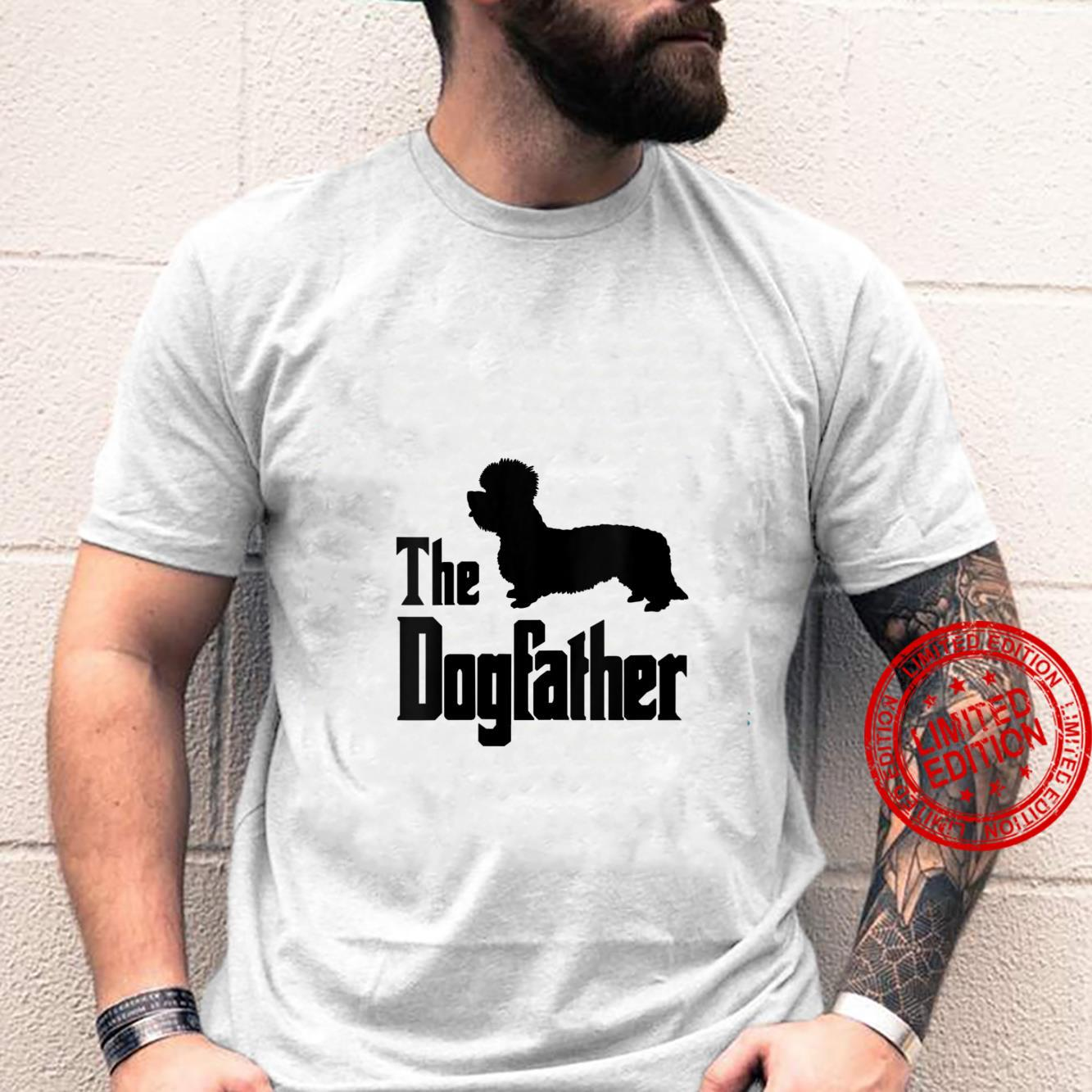 Womens The Dogfather funny dog, Dandie Dinmont Terrier Shirt