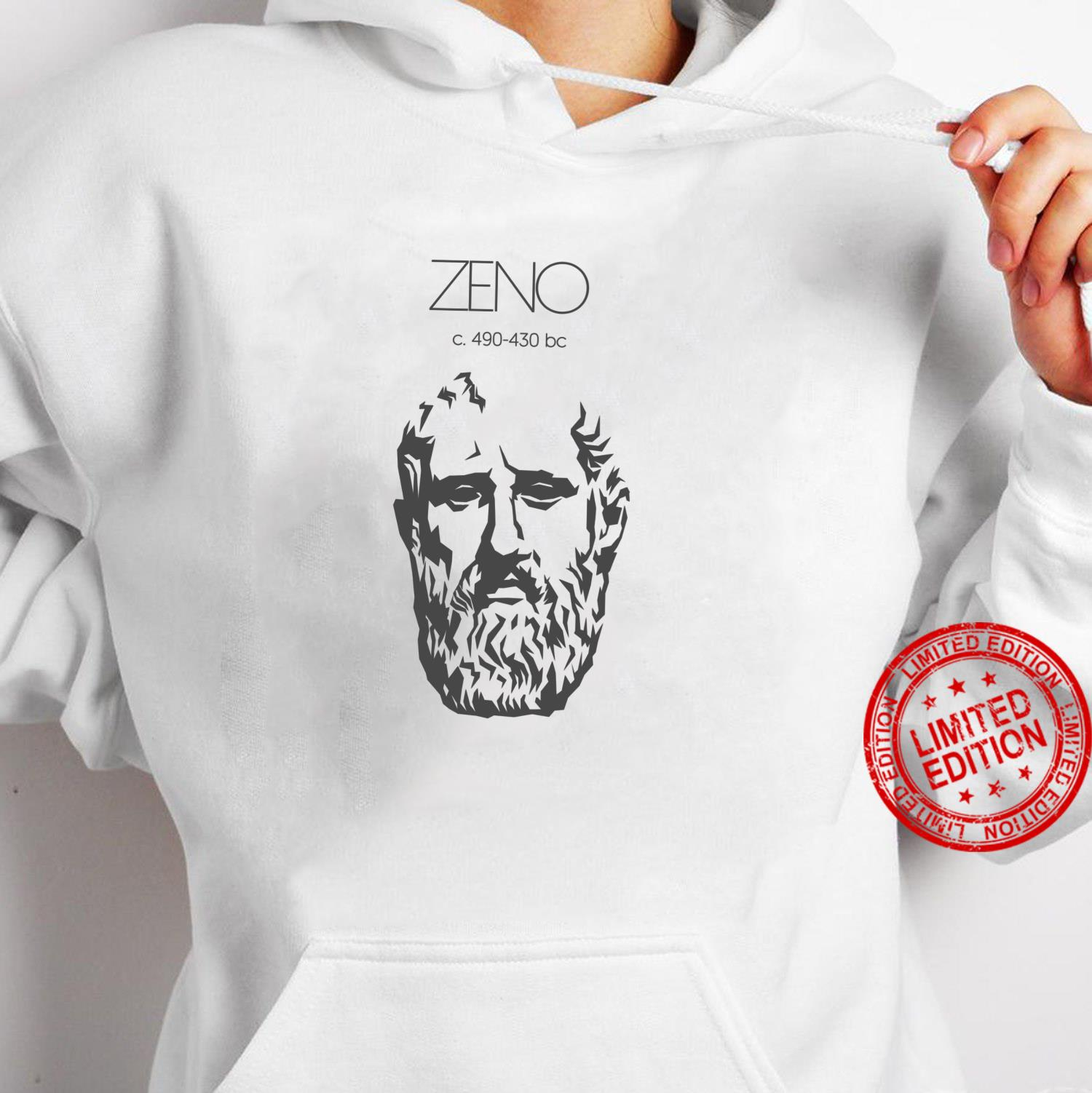 Zeno Ancient Greek Philosopher Shirt hoodie