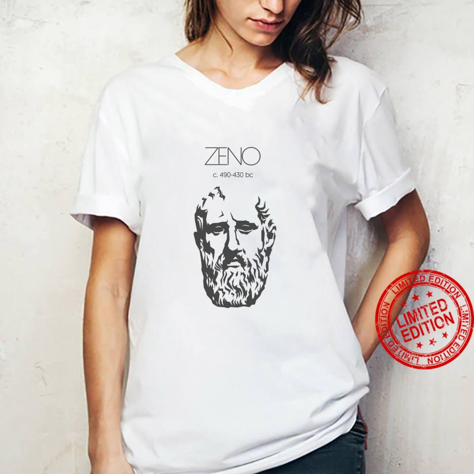 Zeno Ancient Greek Philosopher Shirt ladies tee