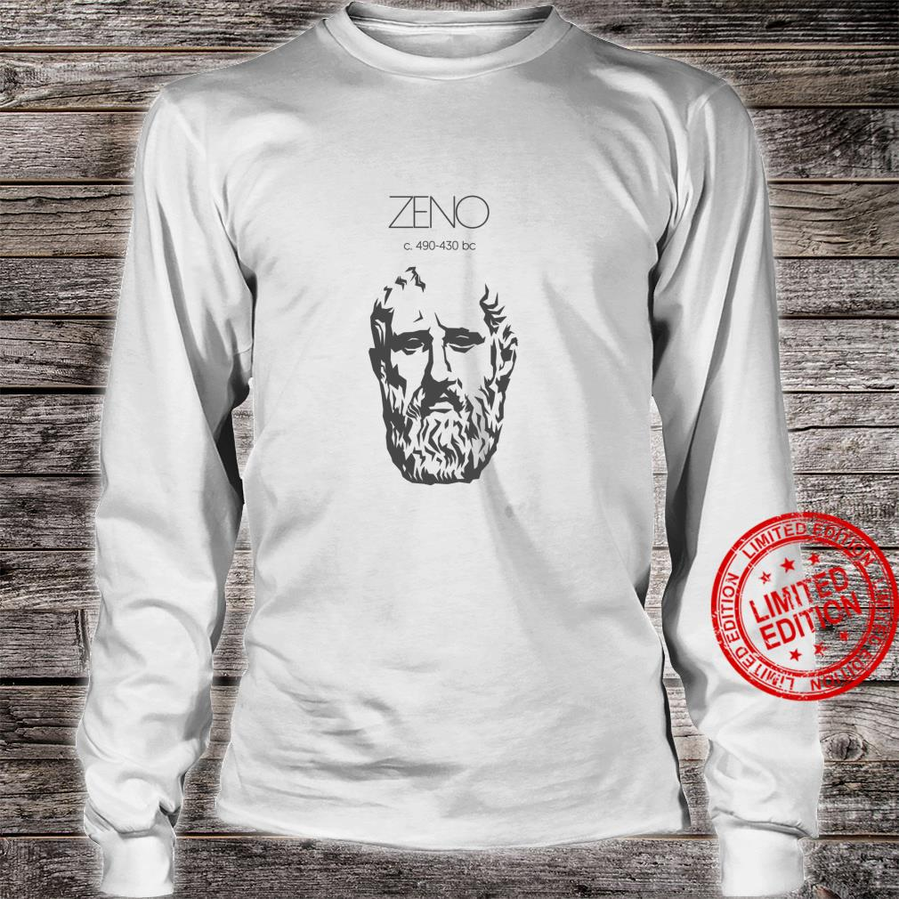 Zeno Ancient Greek Philosopher Shirt long sleeved