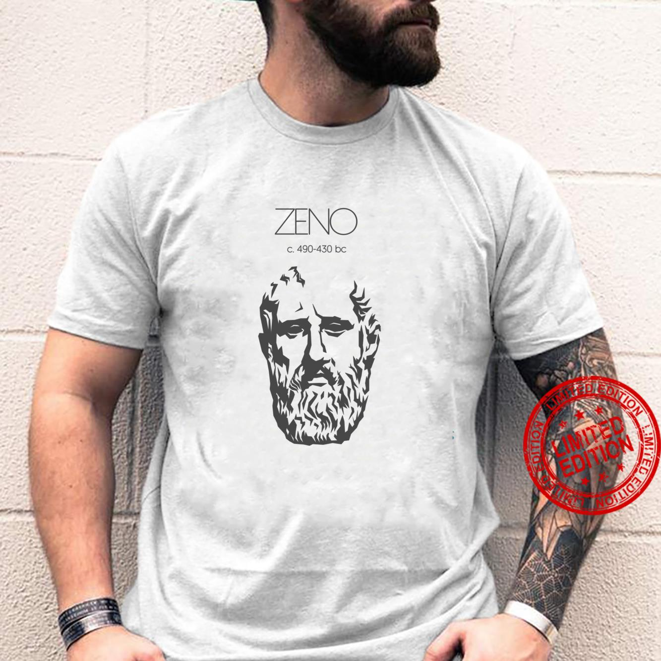 Zeno Ancient Greek Philosopher Shirt