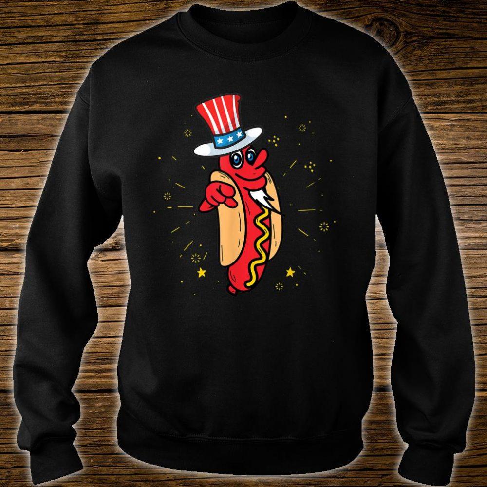 American Hot Dog Hat America USA Wieners Shirt sweater