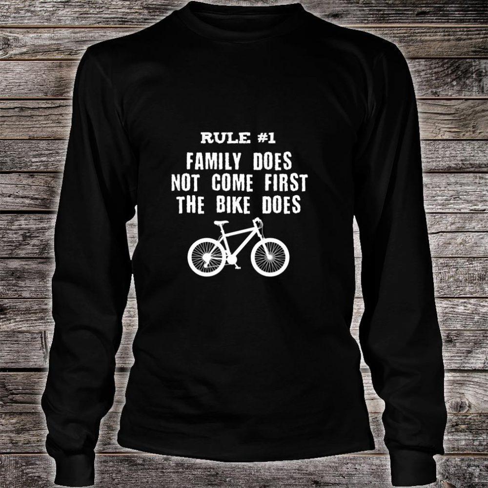 Bike First Shirt long sleeved