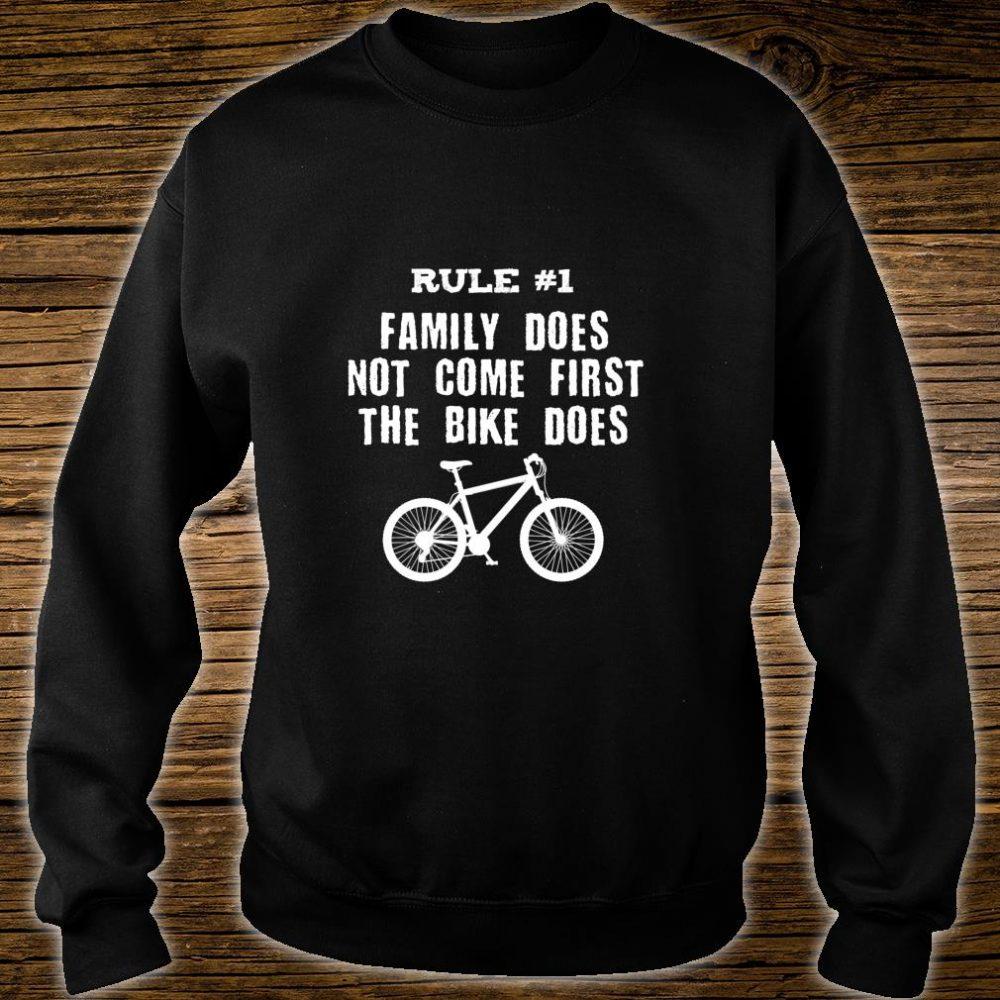 Bike First Shirt sweater