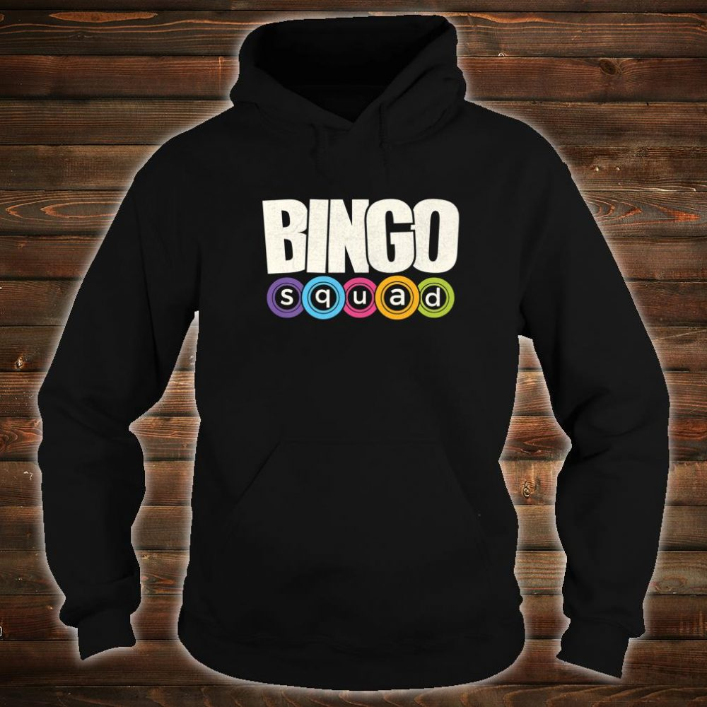 Bingo Player Bingo Squad Casino Lucky Team Player Shirt hoodie