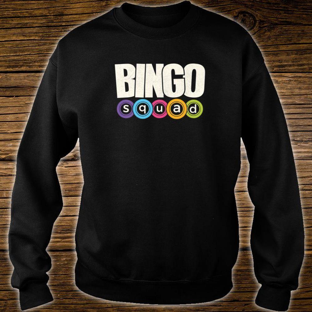 Bingo Player Bingo Squad Casino Lucky Team Player Shirt sweater