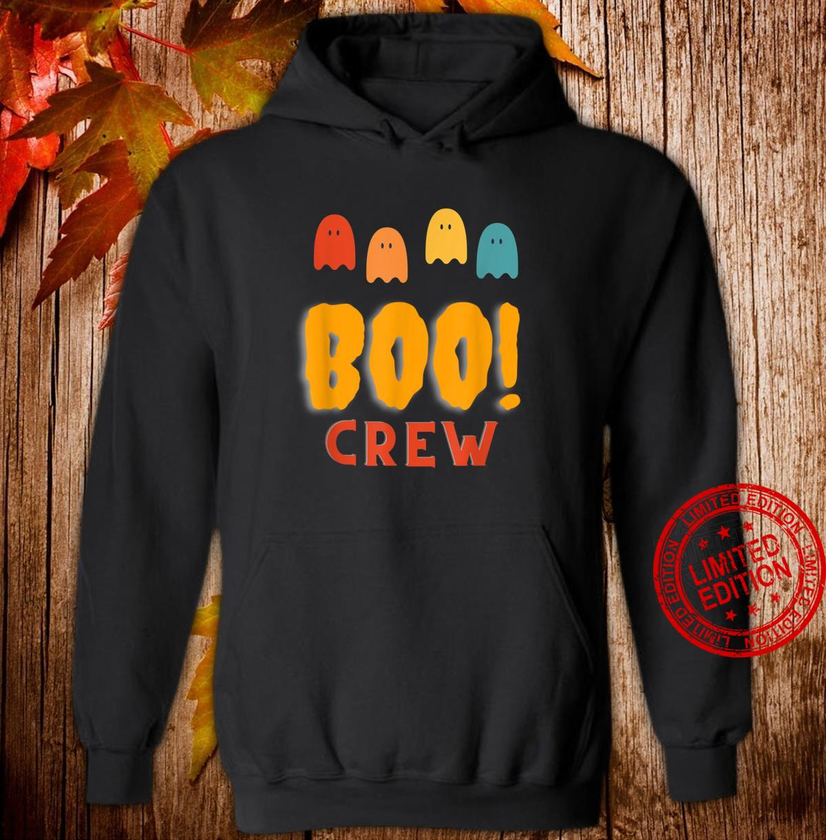 Boo Crew Group Family Halloween Party Shirt hoodie