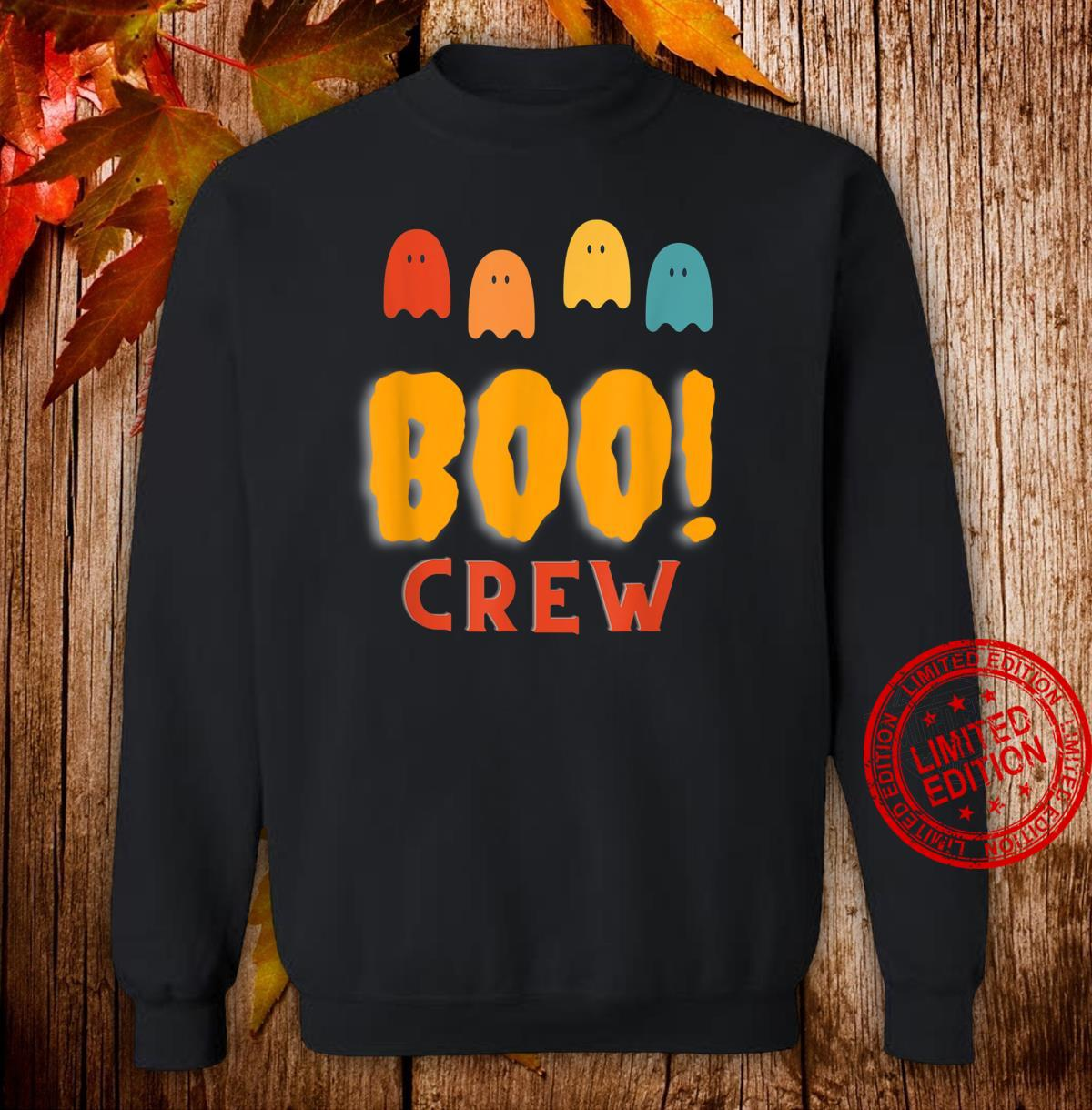 Boo Crew Group Family Halloween Party Shirt sweater