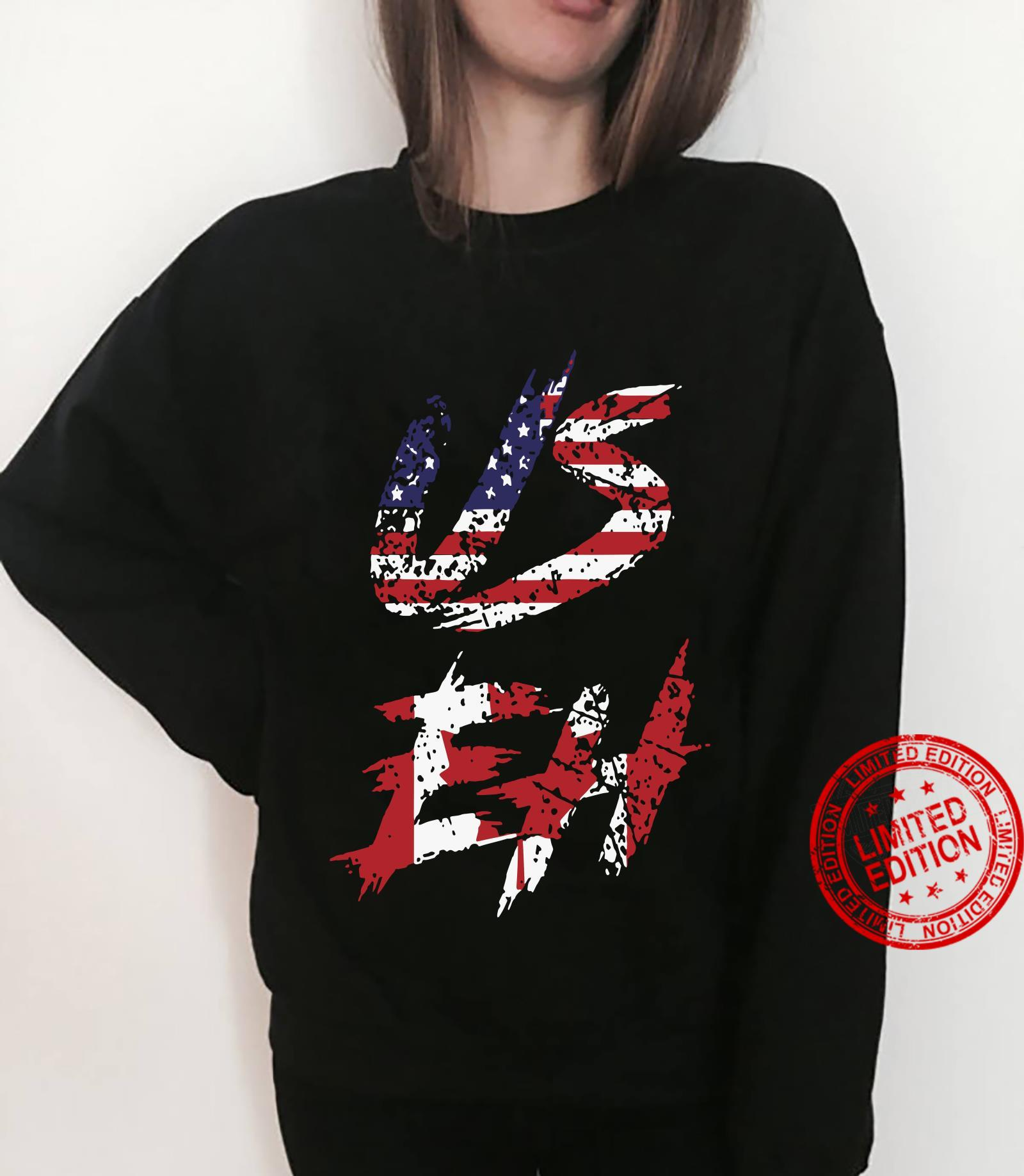 Canadian American US EH Canada Day shirt sweater