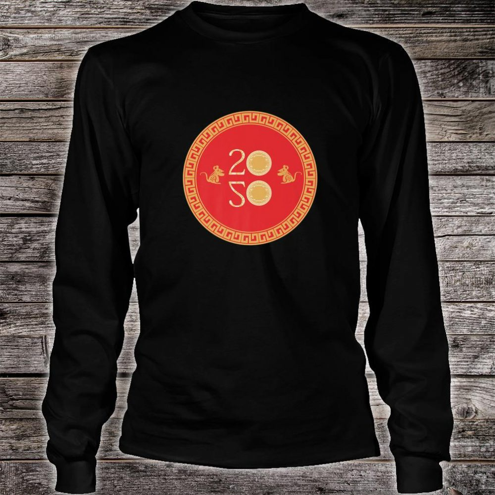 Chinese New Year of the Rat 2020 Shirt long sleeved