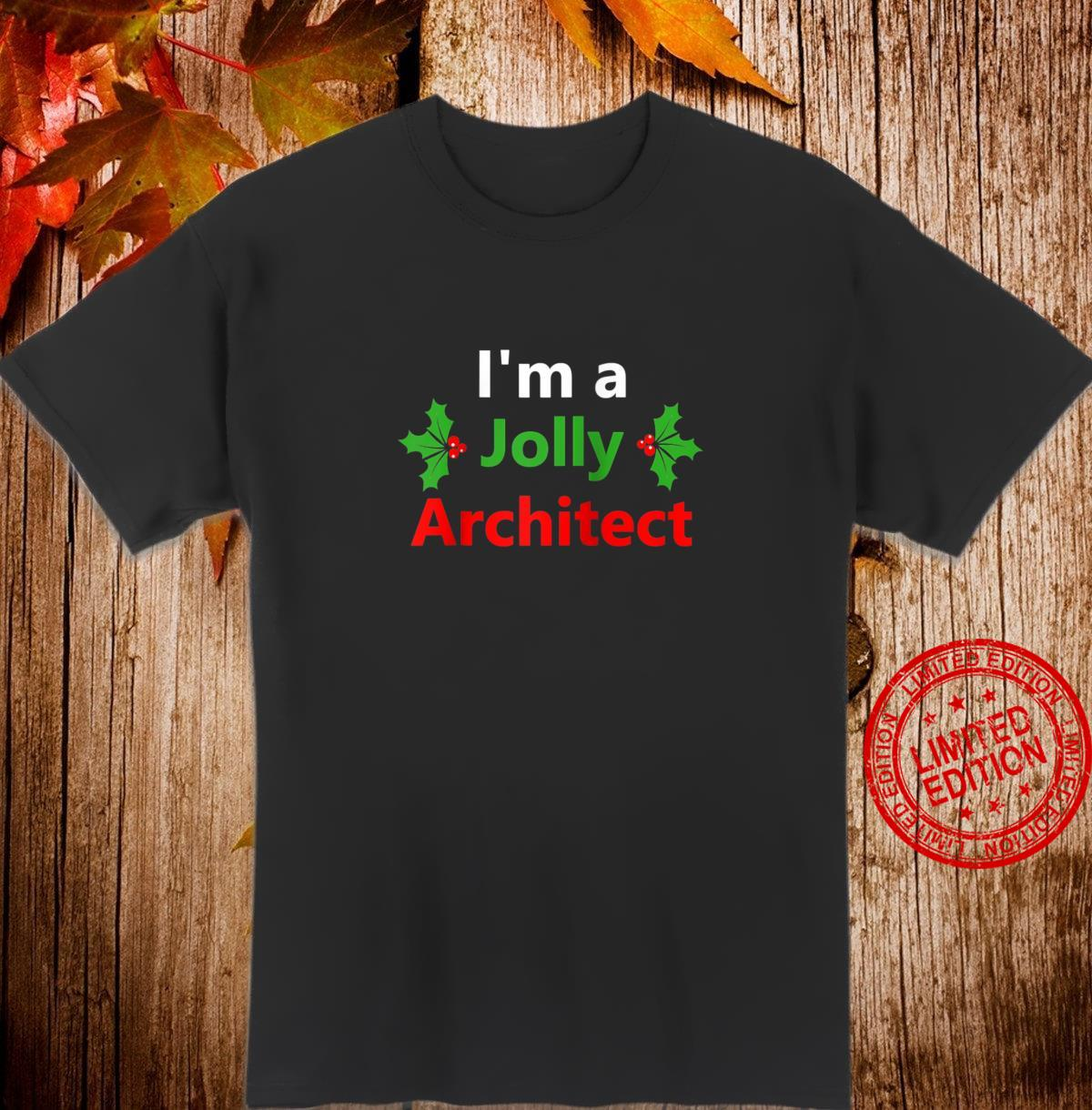 Christmas Architect Job Xmas Career Occupation Shirt