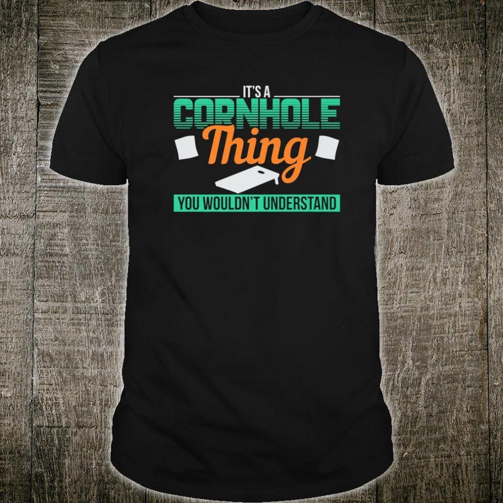 Cornhole Thing Football Tailgating Team Holiday Shirt