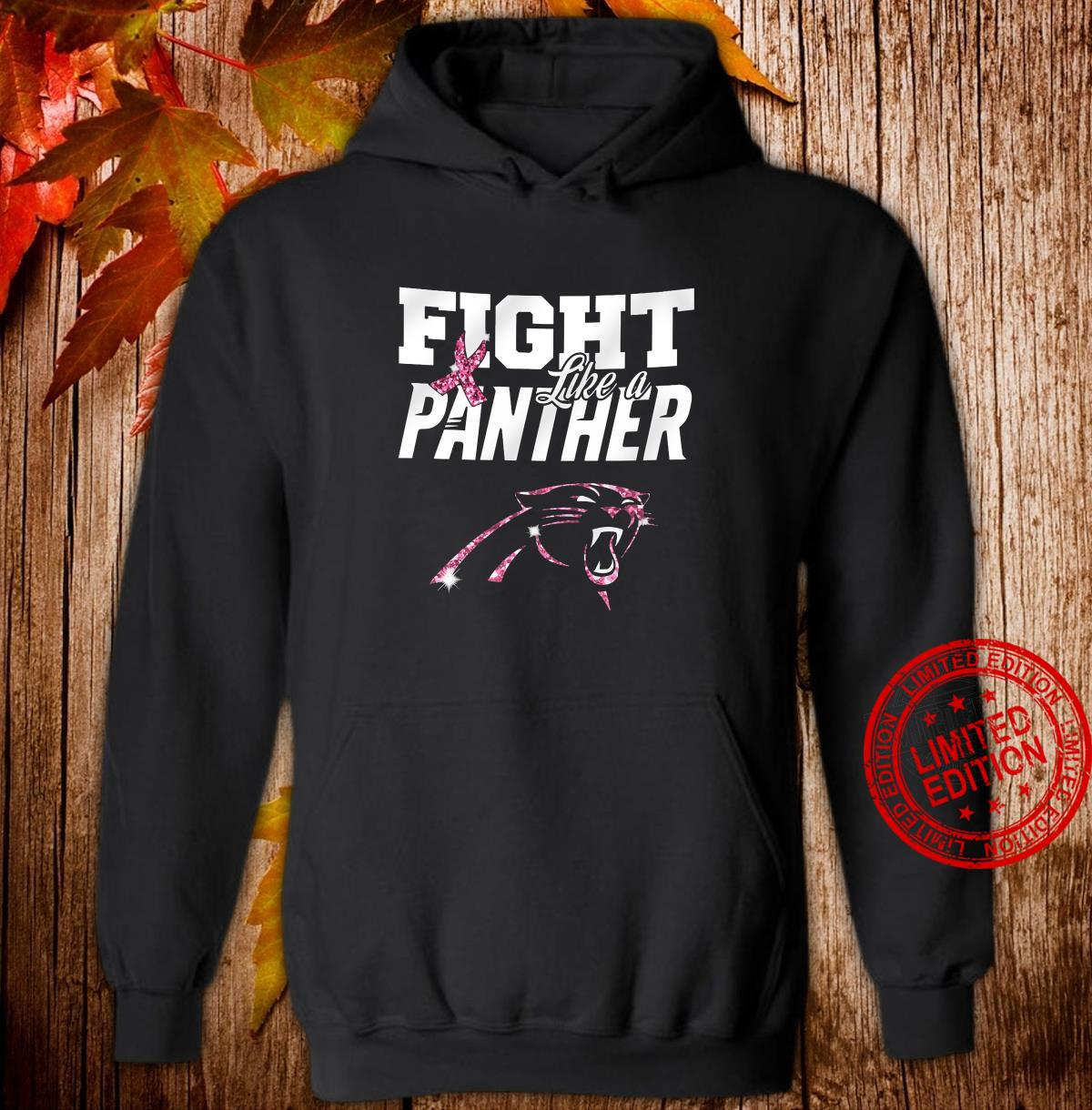 Fight Like A Panther Shirt hoodie