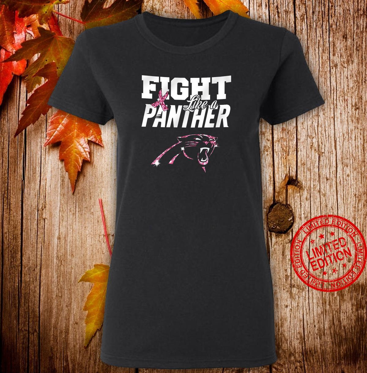 Fight Like A Panther Shirt ladies tee