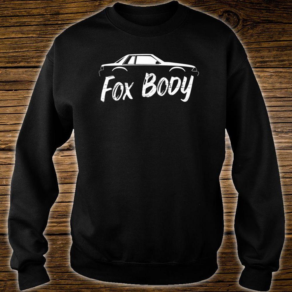 Foxbody Notchback 5.0 American Stang Muscle Car Notch Shirt sweater