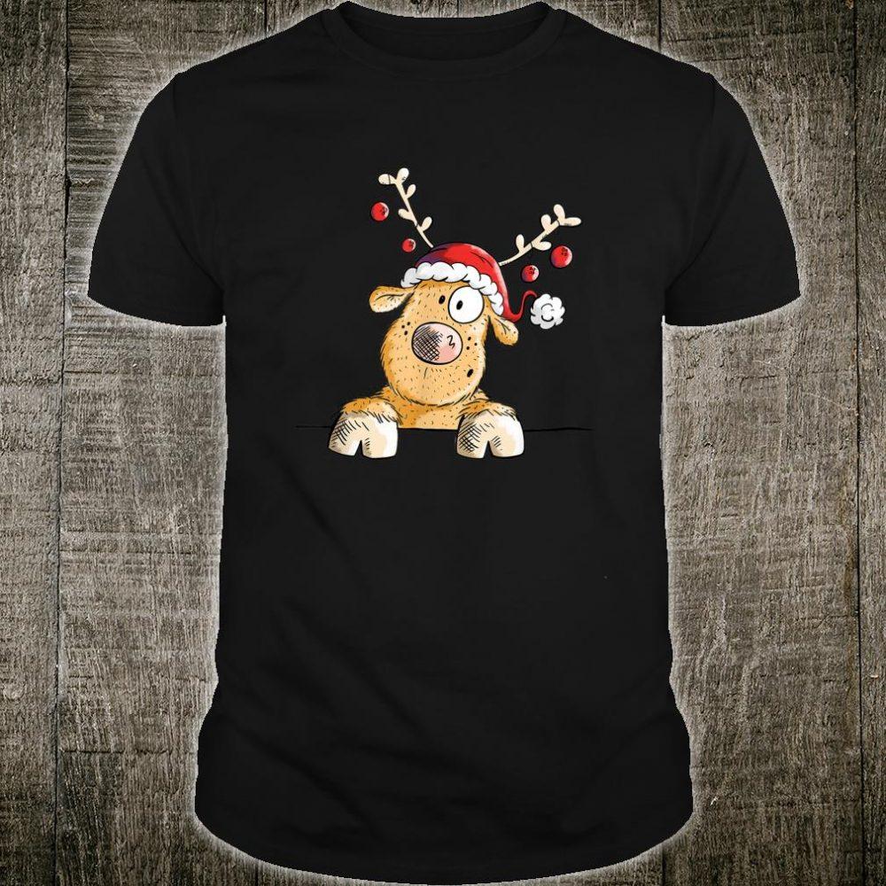 Funny Reindeer I For The Christmas Time I XMas Shirt