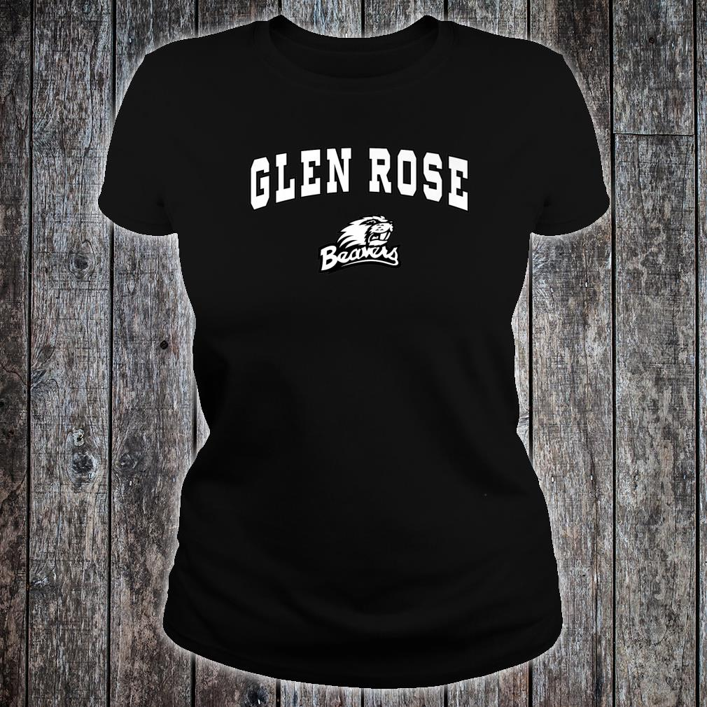 Glen Rose High School Beavers Shirt C2 Shirt ladies tee