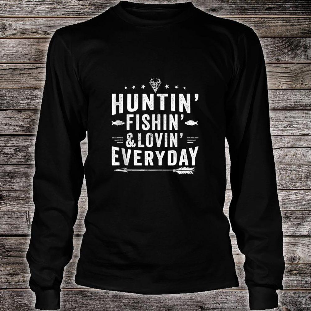 Hunting Fishing Loving Everyday Hunting Fishing Shirt long sleeved