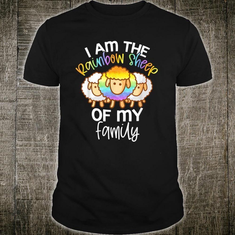 I Am The Rainbow Sheep Of My Family Rainbow LGBT Flag Shirt