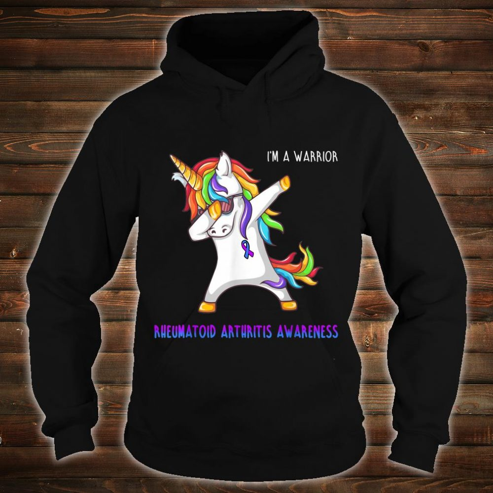 I'm A Warrior Rheumatoid Arthritis Awareness Shirt hoodie