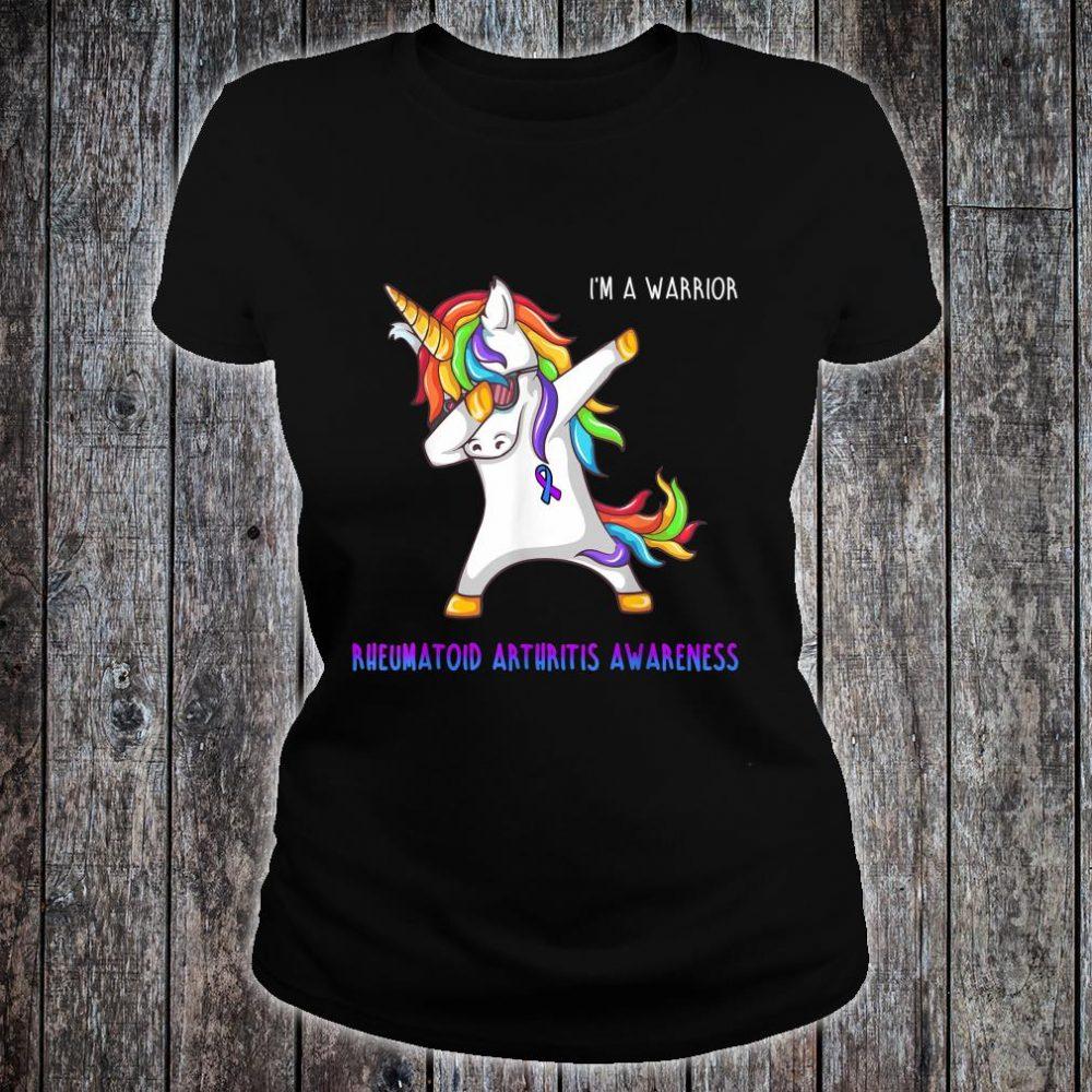 I'm A Warrior Rheumatoid Arthritis Awareness Shirt ladies tee