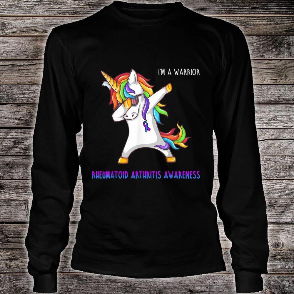 I'm A Warrior Rheumatoid Arthritis Awareness Shirt long sleeved