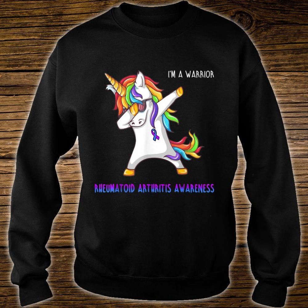 I'm A Warrior Rheumatoid Arthritis Awareness Shirt sweater